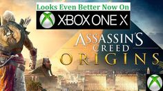 New AC Origins Update for XBOX ONE X - Better Textures & Better Performance #xboxone #games #gaming #videogames
