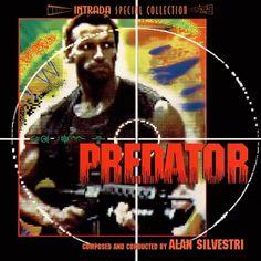 Predator (Intrada) Composer: Alan Silvestri - Intrada Records (U. Alfred Newman, Alan Silvestri, Predator Movie, Sci Fi Thriller, Music Sites, Best Albums, Movie Releases, Sci Fi Movies, Best Songs