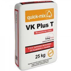 quick-mix | Innowacyjne materiały budowlane | VK Plus T Zaprawa do klinkieru z…