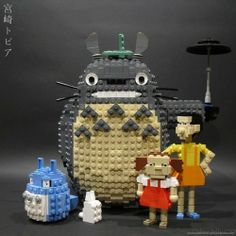 lego totoro... yes please.