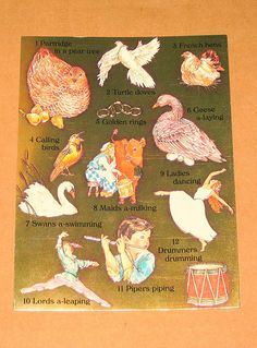 """""""The Twelve Days of Christmas"""" #twelve #days two #turtle #doves"""