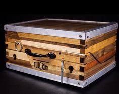 "Fulcrum Mini Pedal Case & Pedalboard - reclaimed hardwood -  Custom - 8"" x 11"" by FulcrumWoodwork on Etsy https://www.etsy.com/listing/248014046/fulcrum-mini-pedal-case-pedalboard"