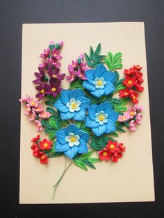 (1) *The world of quilling