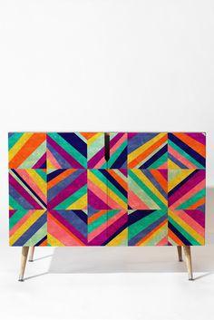 Jacqueline Maldonado Hybrid 1 Credenza | DENY Designs Home Accessories