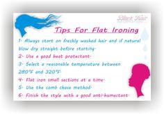 tips for flat ironing www.blackhairinfo...