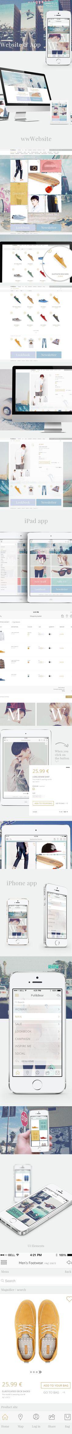 Pull&Bear // Web & App - http://www.webdesignserved.com/gallery/Pull-Bear-Web-App/7415681