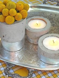 Do-It-Yourself Concrete Containers
