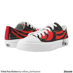 Tribal Pain Kickers Printed Shoes