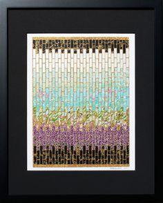 Washi Paper Mosaic