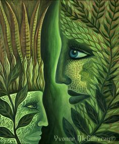 Every artist has a different view of nature through their own pupils. Creativity and imagination is shown in every piece of artwork. Cool Optical Illusions, Divine Mother, Spirit Of Truth, San Pedro, Visionary Art, Psychedelic Art, Medicinal Plants, All Art, Gestalt Laws