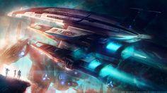 SSV NORMANDY SR2 - Mass Effect - by Eddy-Shinjuku on deviantART