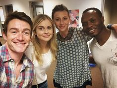 "Rose McIver on Twitter: "" so exciting! #iZombie season three coming together...."