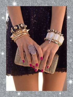 Stock up on arm candy for the holidays! #CharlotteRusse