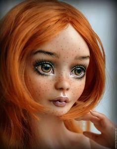 BJD art doll / Коллекционные куклы ручной работы. Ярмарка Мастеров - ручная работа. Купить Элизабет фарфоровая шарнирная кукла. Handmade. Рыжий, бжд
