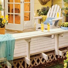 Photo: Mark Lohman   thisoldhouse.com   from 39 Budget-Wise Ways to Create Outdoor Rooms