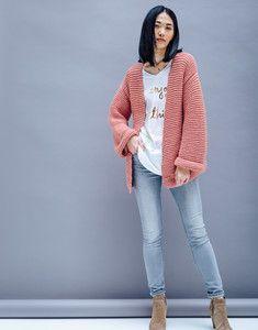 Modèle veste tube rose Rapido