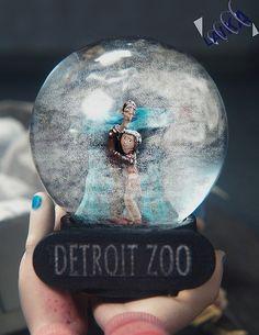 Coraline's snow globe