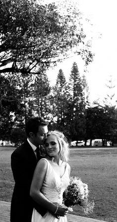 Tash & Stuart - By Rope&Pulley Photographer Matthew Regan. BW film Kodak TRI - X 400.  #Wedding #Bride #Weddingphotography #flowers #bouquet #Film