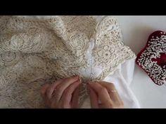 Уроки ирландского кружева. Вшивание рукава - Все в ажуре... (вязание крючком) - Страна Мам