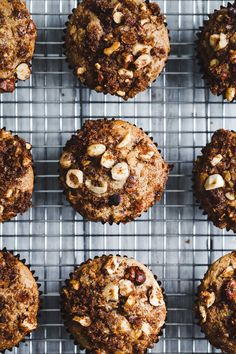 These cinnamon-spiced hazelnut chocolate chunk muffins are gluten-free and dairy-free. Hazelnut milk creates a sweet morning muffin with a distinctly nutty flavor that's still tender and moist!