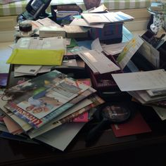 Home Office Desk - BEFORE