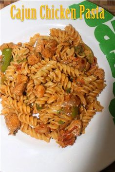 Cajun Chicken Pasta - Kids Lunch Box Ideas 3 - Yummy Tummy Cajun Recipes, Indian Food Recipes, Pasta Recipes, Appetizer Recipes, Chicken Recipes, Cooking Recipes, Ethnic Recipes, Cajun Spice Mix, Healthy Snacks