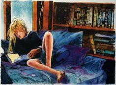 Painting by Anne Belov