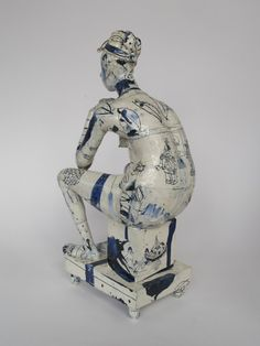 Seated Nude (back) 2006  47 x 23 x 19 cms Philip Eglin,