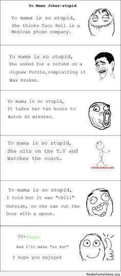 Best of yo moma jokes