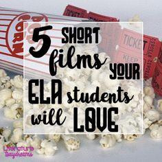 5 short films for high school ELA by Literature Daydreams
