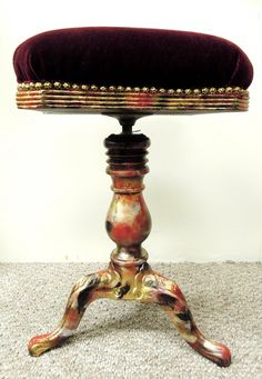 Antique Piano Stool UNIQUE & Vintage Piano Stool | For the (old) Home... | Pinterest | Piano ... islam-shia.org