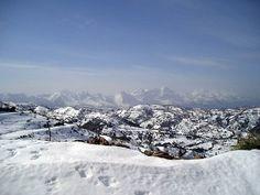 Algeria - The Djurdjura Range in Snow