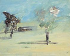 Sidney Nolan (Australian, 1917-1992), Dust Storm, 1948