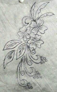Pin De Ana Dure Em Bordado Desenhos Bordados A Mao Desenhos De