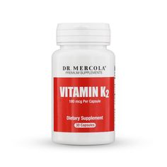 Vitamin K2 is a dietary supplement that may help support your immune system and bone health.* http://products.mercola.com/vitamin-k/