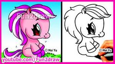 Image result for how to draw cute baby animals step by step