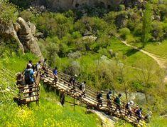 Kapadokien Cappadocia, Garden Bridge, Outdoor Structures