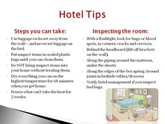 7 Best Travel Tips To Prevent Bed Bugs Images Bed Bugs Treatment