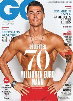So lebt der 70 Millionen Euro Mann. #Cover #MagazineCover Jetzt lesen in: GQ für Männer - epaper, Nr. 4/2016