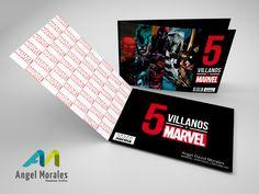Trabajo clase - medios editoriales 5 villanos de marvel