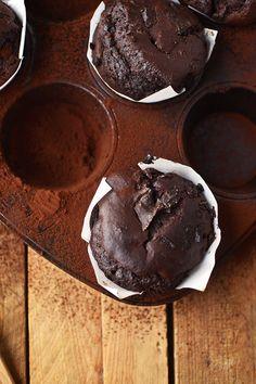 Schoko-Muffins mit Nougat-Kern und ein Plädoyer für mehr Vielfalt und Gelassenheit!