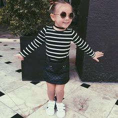 Outfit of the day <3 Fashion Little girl #fashionkids #ootd #fashionblog