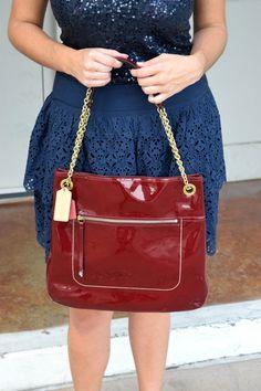 b20439efc3d8 Fall accessories for a warmer climate!   Witty n Pretty Work Handbag, Fall  Accessories