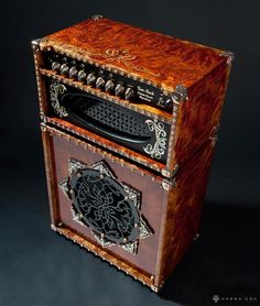 ultra custom guitar amp & speaker cabinet design by Will Cascio