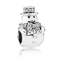 Pandora Snowman Charm 792001CZ