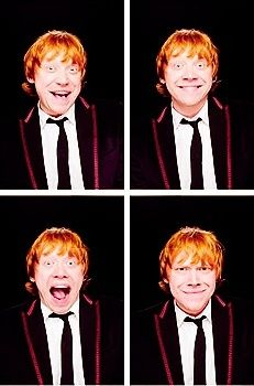 A whole new way to watch the Harry Potter movies: focus on Rupert's facial expressions, especially in serious situations. God I love him.