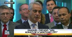 In Murder City U.S.A., Chicago's Mayor Says Illegals are 'Safe' in His 'Sanctuary City'