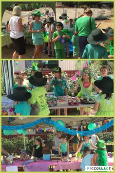Green Day 2016 - raising money for Caritas.