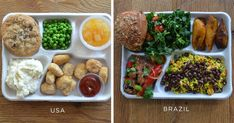 It's important that growing children eat healthy, but judging by the appearances of some school lunches out there, it doesn't seem like schools like to deliver the goods. But with the help of her dad and the Sweetgreen restaurant chain, 12-year-old Scottish schoolgirl Martha Payne released a series of school lunch comparisons from countries around the world on her blog.