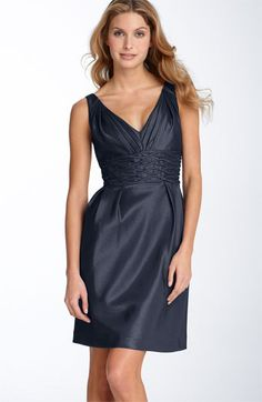 """this is """"navy"""", not sure I agree with that, but i like the dress anyway!"""